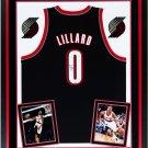 Damian Lillard Autographed Signed Framed Portland Trail Blazers Nike Jersey BECKETT