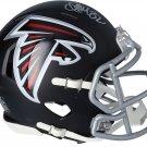 Jamal Anderson Signed Autographed Atlanta Falcons Mini Helmet FANATICS