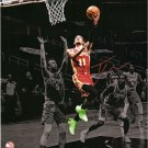 Trae Young Hawks Autographed Signed 16x20 Photo FANATICS