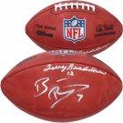Terry Bradshaw & Ben Roethlisberger Steelers Signed Autographed NFL Football FANATICS