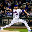 Jacob DeGrom Mets Autographed Signed 16x20 Photo FANATICS