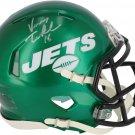 Vinny Testaverde Signed Autographed New York Jets Mini Helmet FANATICS