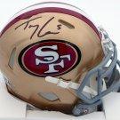 Trey Lance Autographed Signed San Francisco 49ers Mini Helmet BECKETT