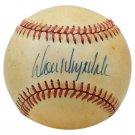 Don Drysdale Dodgers Autographed Signed NL Baseball BECKETT