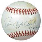 Jim Hunter A's Yankees Signed Autographed Baseball BECKETT