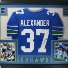 Shaun Alexander Signed Autographed Framed Seattle Seahawks Jersey JSA