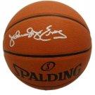 Dr. J Julius Erving 76ers Autographed Signed Spalding Basketball BECKETT