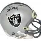 Dave Casper Signed Autographed Oakland Raiders Mini Helmet BECKETT