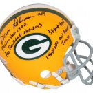 Dave Robinson Signed Autographed Green Bay Packers Mini Helmet BECKETT