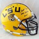 Devin White Signed Autographed LSU Tigers Schutt Proline Helmet BECKETT