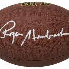 Roger Staubach Cowboys Signed Autographed NFL Football SCHWARTZ
