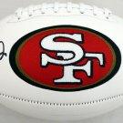 Joe Montana Autographed Signed San Francisco 49ers Logo Football BECKETT