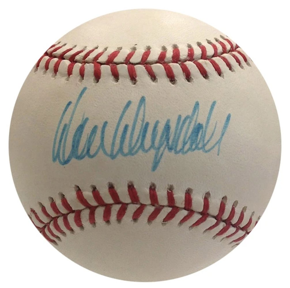 Don Drysdale Dodgers Autographed Signed NL Baseball JSA