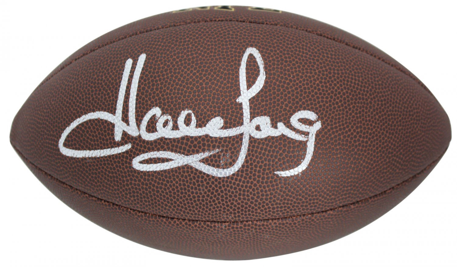 Howie Long Raiders Autographed Signed NFL Wilson Football BECKETT