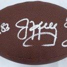 Kelly Reed & Thomas Bills Autographed Signed Football BECKETT