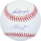 Chipper Jones & Dale Murphy Atlanta Braves Autographed Signed Official Baseball FANATICS