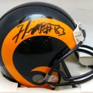 Flipper Anderson Autographed Signed Los Angeles Rams Mini Helmet JSA