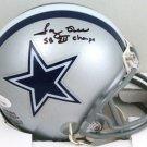 Tony Hill Autographed Signed Dallas Cowboys Mini Helmet JSA