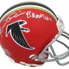 Andre Rison Signed Autographed Atlanta Falcons Mini Helmet SCHWARTZ