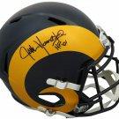 Jack Youngblood Signed Autographed Los Angeles Rams FS Helmet SCHWARTZ