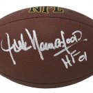 Jack Youngblood Rams Signed Autographed NFL Wilson Football SCHWARTZ
