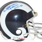 Deacon Jones Autographed Signed Los Angeles Rams Mini Helmet PSA