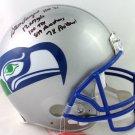 Steve Largent Autographed Signed Seattle Seahawks FS Helmet BECKETT