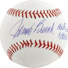 Johnny Bench Reds Autographed Signed Official Baseball FANATICS