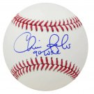 Chris Sabo Reds Autographed Signed MLB Baseball JSA