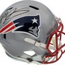 Mac Jones Autographed Signed New England Patriots FS Helmet BECKETT