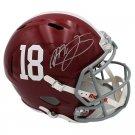 Mac Jones Autographed Signed Alabama Crimson Tide FS Helmet BECKETT