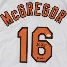 Scott McGregor Signed Autographed Baltimore Orioles Jersey JSA