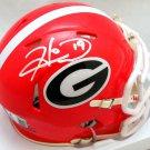 Hines Ward Autographed Signed Georgia Bulldogs Mini Helmet BECKETT