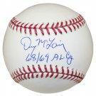 Denny McLain Tigers Signed Autographed MLB Baseball SCHWARTZ