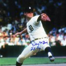 Denny McLain Tigers Signed Autographed 8x10 Photo SCHWARTZ
