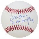 Vida Blue Oakland A's Signed Autographed MLB Baseball SCHWARTZ