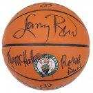 Bird McHale & Parish Signed Autographed Celtics Logo Basketball SCHWARTZ
