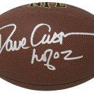 Dave Casper Oakland Raiders Signed Autographed NFL FootbalL SCHWARTZ