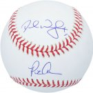 David Wright & Pete Alonso Mets Autographed Signed Baseball FANATICS