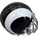 Deacon Jones Autographed Signed Los Angeles Rams Mini Helmet JSA