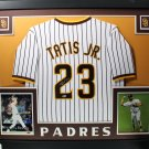Manny Machado Autographed Signed Framed San Diego Padres Jersey BECKETT