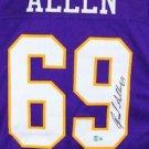 Jared Allen Autographed Signed Minnesota Vikings Jersey BECKETT