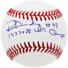 Ron Guidry Yankees Autographed Signed OML Baseball BECKETT