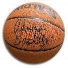 Adrian Dantley Jazz Signed Autographed Spalding NBA Basketball HOF COA