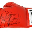 Ray Mancini Autographed Signed Red Everlast Boxing Glove SCHWARTZ