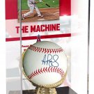 Albert Pujols Angels Signed Autographed Baseball with Case FANATICS