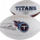 Derrick Henry Autographed Signed Tennessee Titans Logo Football FANATICS