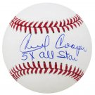 Cecil Cooper Brewers Signed Autographed MLB Baseball SCHWARTZ