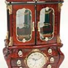 Deluxe Antique Style Musical Jewelry Cabinet