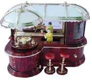 Musical Jewelry Bar Box